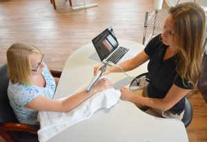 Hand to Hand Occupational Therapy Ultrasound